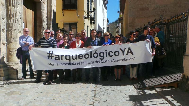 Museo Arqueológico de Granada protesta Casa de Castril