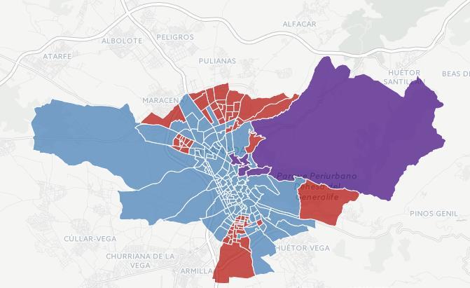 resultados elecciones andaluzas 2015 distritos granada