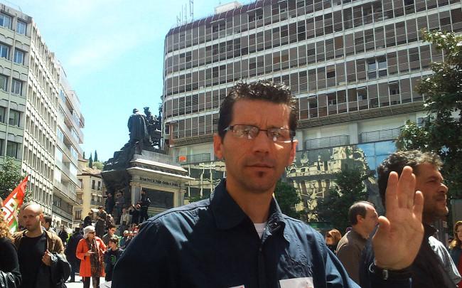 diego castillo caballero número 3 lista IU municipales 2015 granada