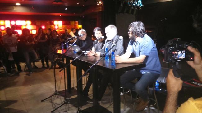 Debate sobre la música en la Boogaclub.