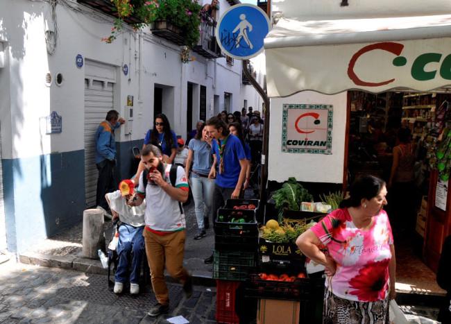 Albaicín-sin-barreras, accesibilidad