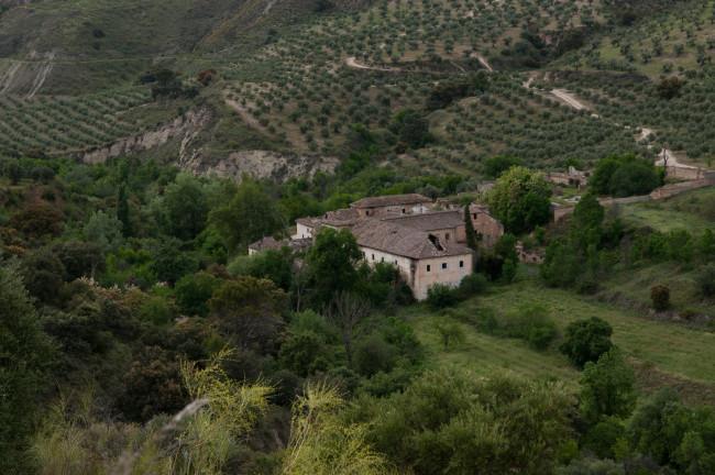 Hacienda Jesús del Valle, Valle del río Darro
