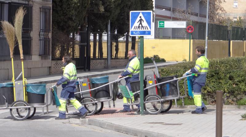 prioridades barrios granada limpieza inagra