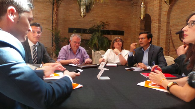 contactos PSOE y Ciudadanos por Granada
