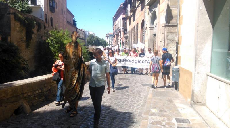 Museo Arqueológico de Granada manifestación