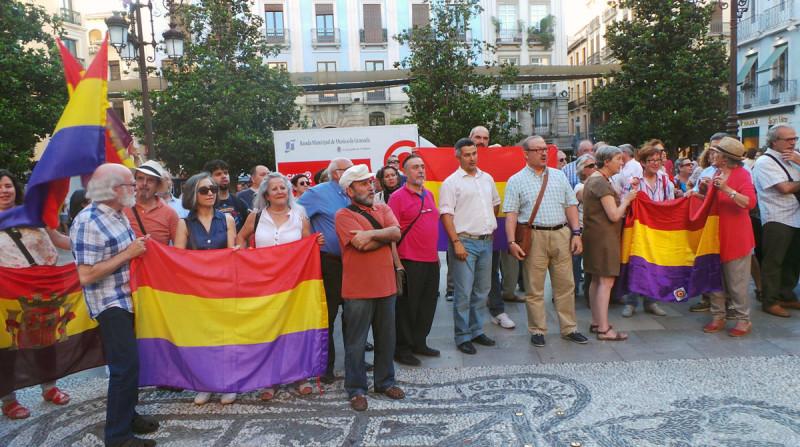 concentración republicana, UCAR Granada