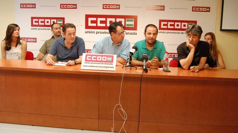 CCOO despidos trabajadores television TG7