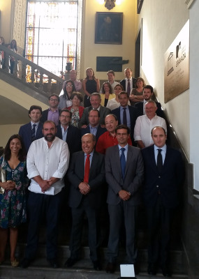 foto familia pleno ayuntamiento de granada