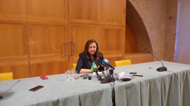 detenida María del Mar Villafranca, patronato de la Alhambra