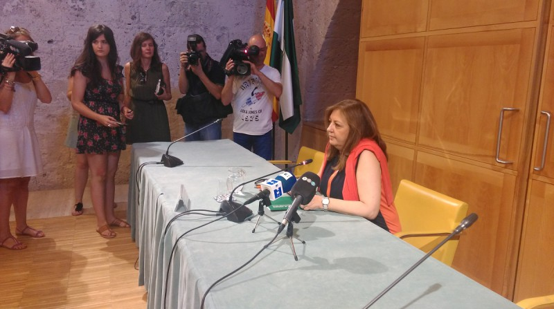 dimisión María del Mar Villafranca directora del Patronato de la Alhambra