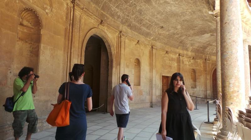 Patronato de la Alhambra, servicio de audioguías, María del Mar Villafranca
