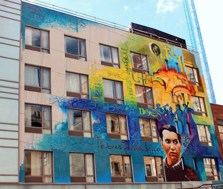 Niño de las Pinturas, Soho, Nueva York, Lorca