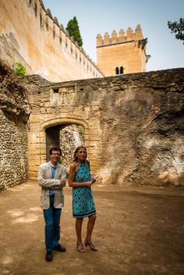 Cuesta de los Chinos Alhambra Albaicín