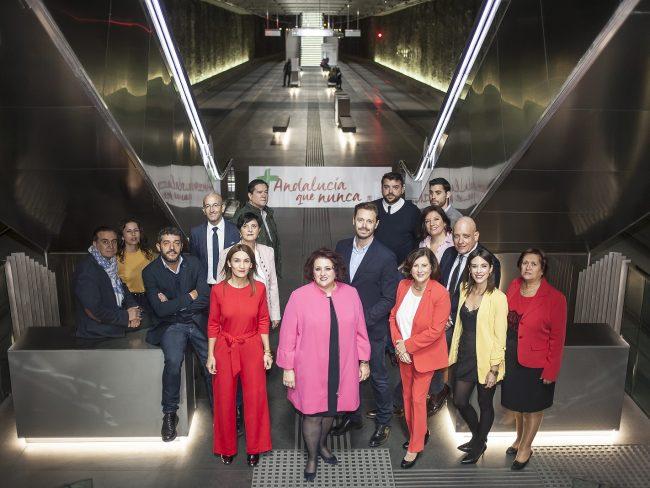 candidatura psoe elecciones andaluzas propuestas para granada