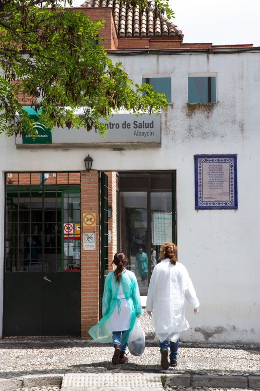 sanitarios infectados en Granada corona virus granadaimedia