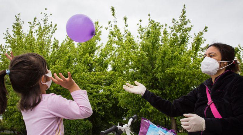 desconfinamiento niños granada corona virus Foto: Lucía Rivas