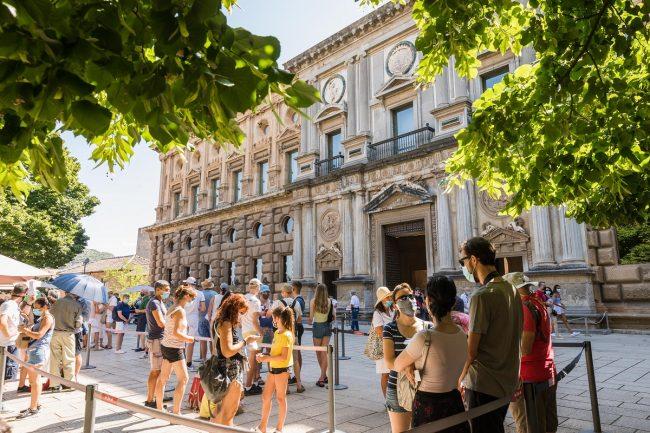 Impacto de la Covid-19 en el turismo de Granada Alhambra