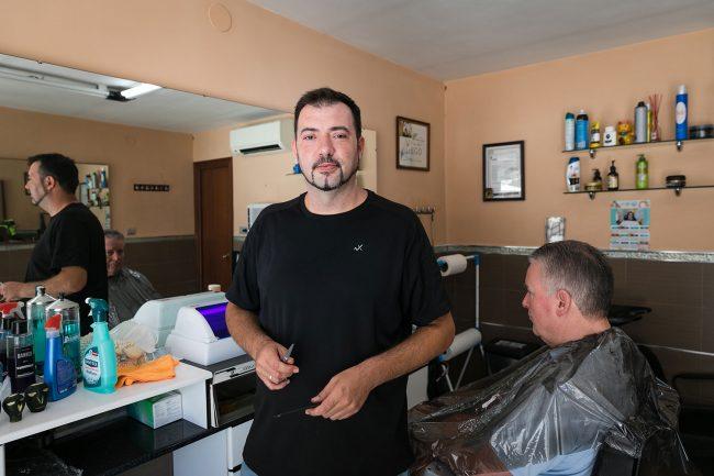 peluquería lara, chana