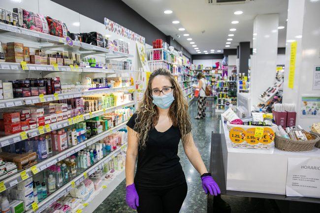 comercio de granada perfumería piluca zaidín