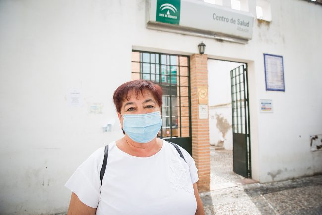 Covid-19 Centro Salud Granada