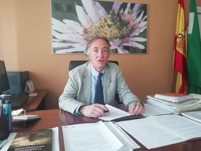 indalecio sánchez montesinos, delegado de Salud en Granada