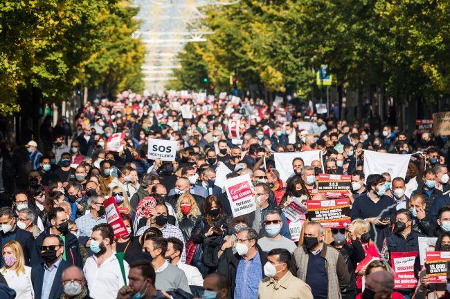 granana coronavirus protesta hostelería y comercio