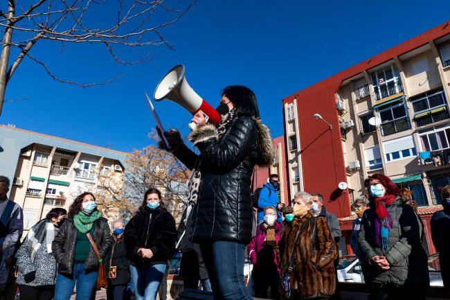 cortes de luz en Casería de Montijo protesta vecinos