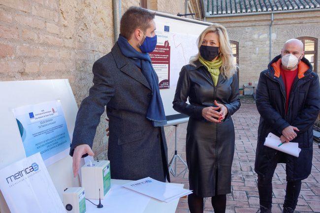 medidores calidad del aire Granada