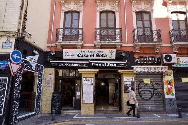 Bares y Tabernas de Granada El Sota Realejo