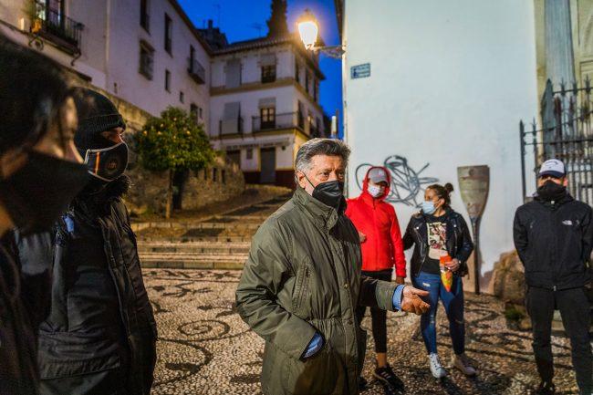 vigilancia vecindario unido albaicín