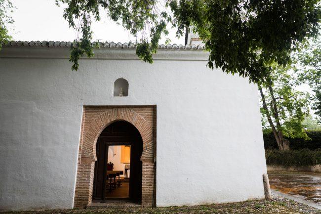 ermita san sebastian granada puerta