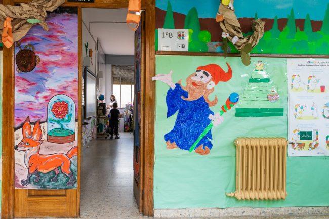 comunidades de aprendizaje en Granada, distrito Norte, colegio Padre Manjón