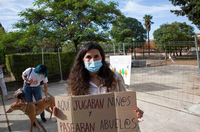 defensa del parque zen Margarita Arango