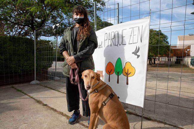 defensa del parque zen Marta Zafra
