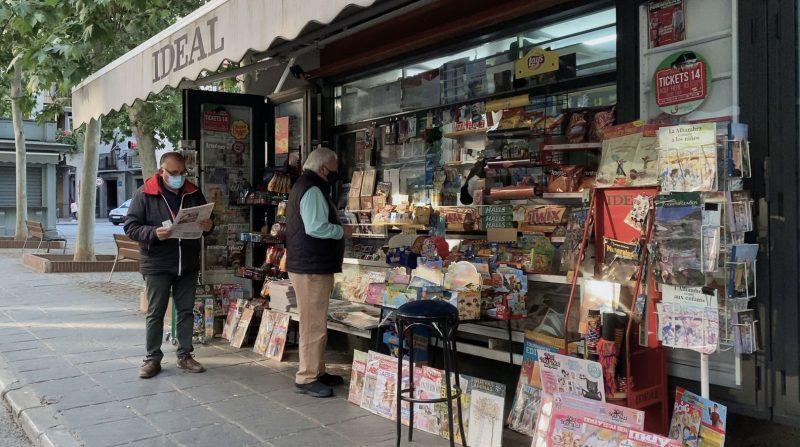quioscos de prensa de Granada